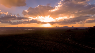 God Sunset Wordpress