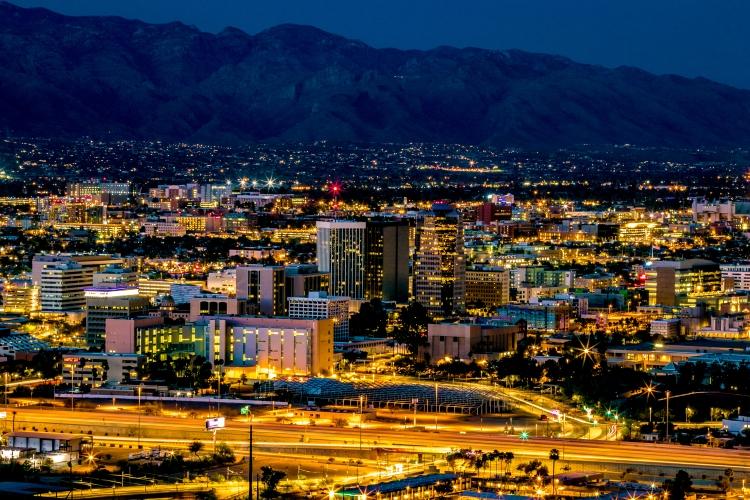 Tucson City Lights